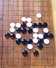A stage during the fifth match of Lee Sedol vs AlphaGo